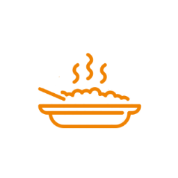 Icon meal whitebackground